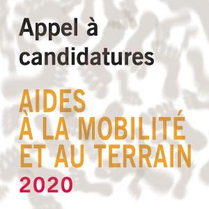 AIDES À LA MOBILITÉ ET AU TERRAIN 2020