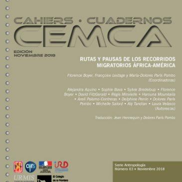 RUTAS Y PAUSAS DE LOS RECORRIDOS MIGRATORIOS ÁFRICA-AMÉRICA