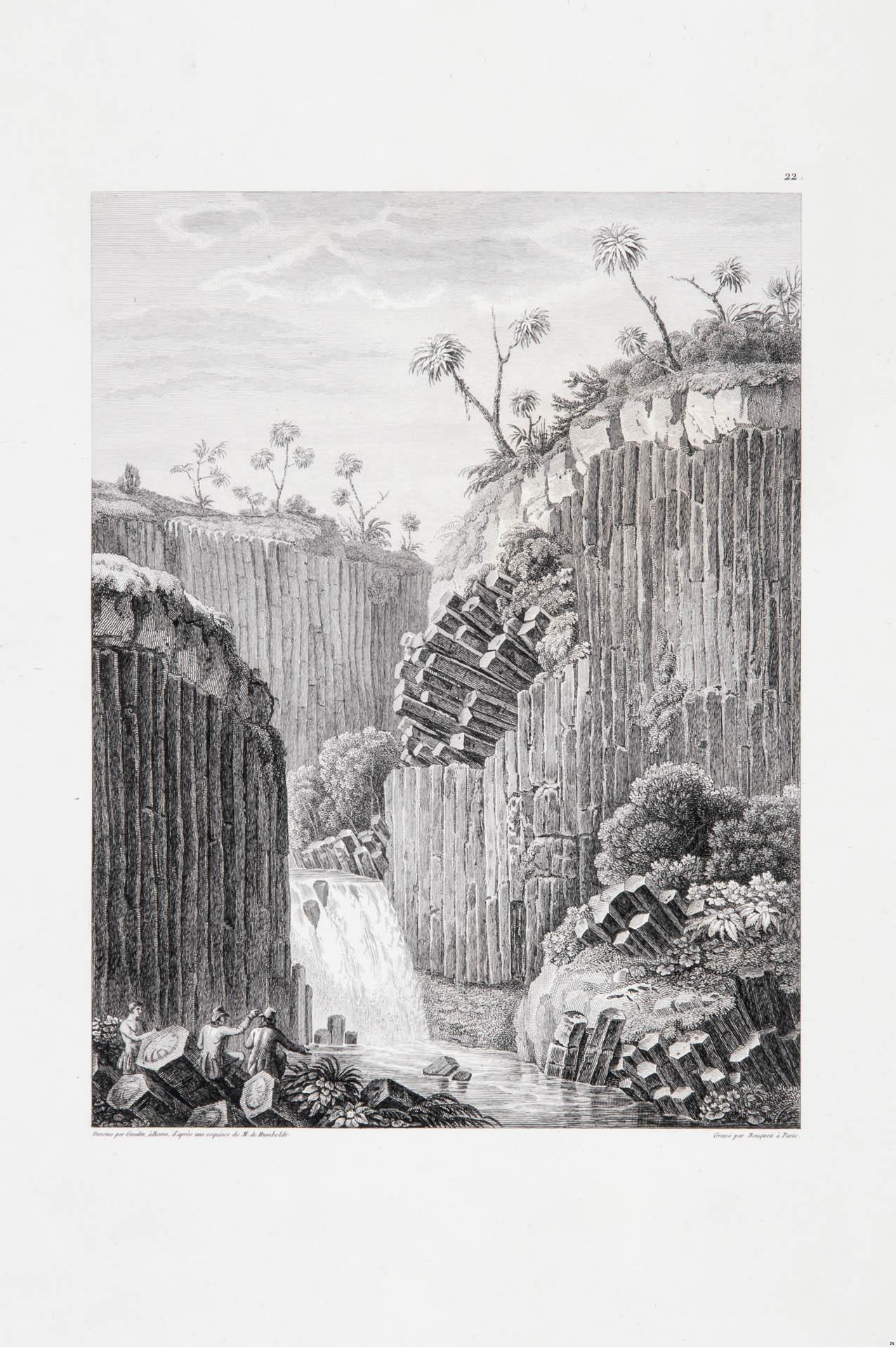 Prismas basálticos y Cascada de Santa María Regla