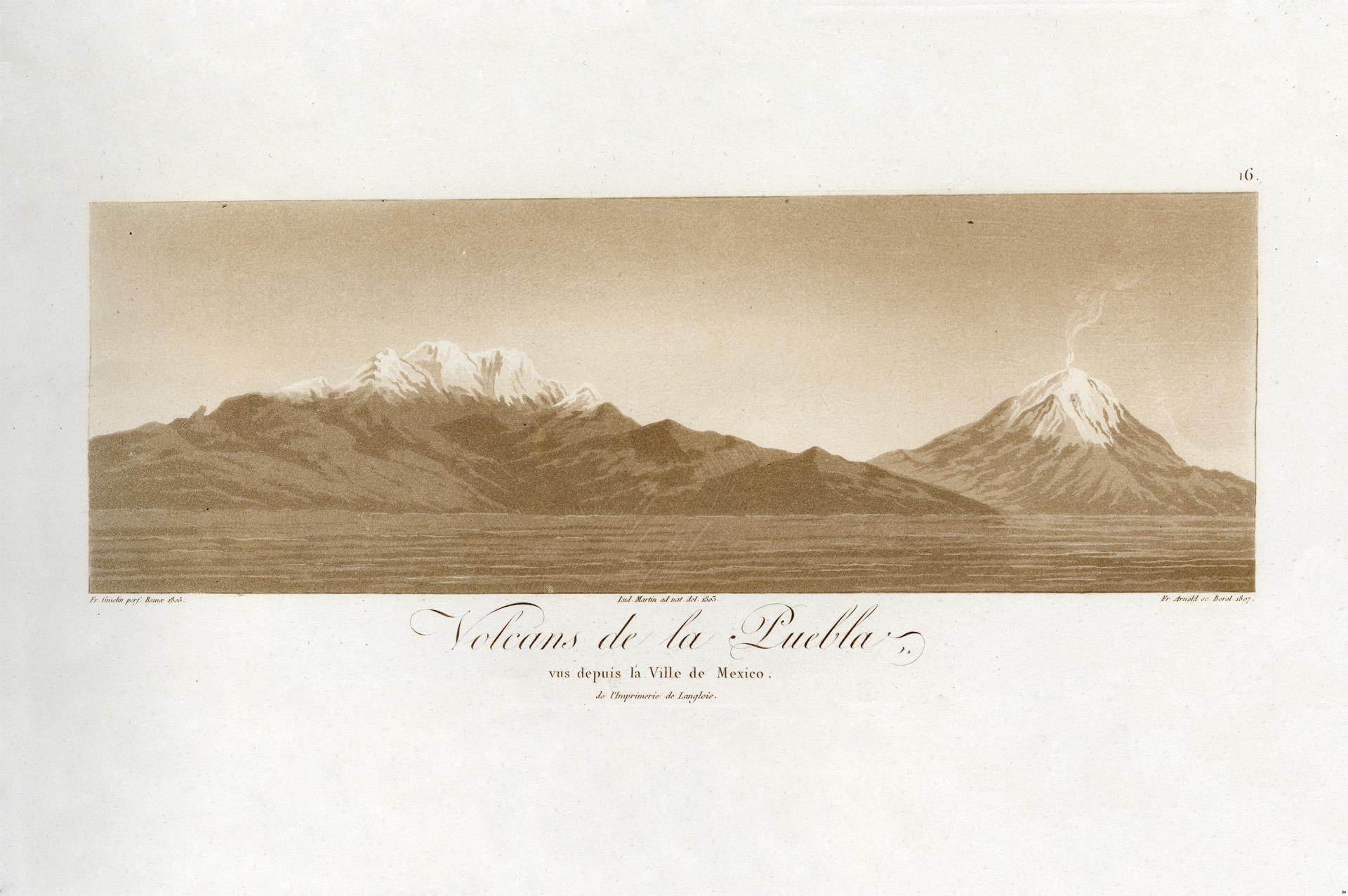 Pico de Orizaba visto desde el bosque de Xalapa