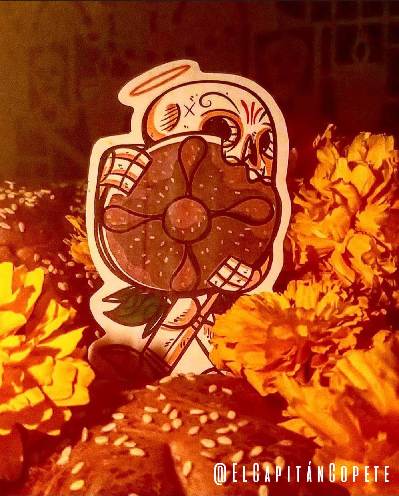 El Capitán Copete, Pan de muerto. ©Jesús Ramos.
