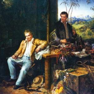 Alexander von Humboldt y Aimé Bonpland
